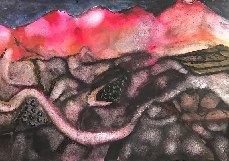 lava road