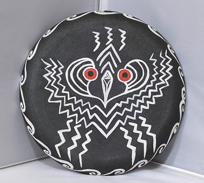 Emrys Mask of the Goddess Bird/Snake
