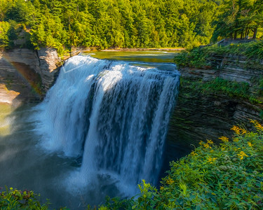 Middle Falls, Letchworth State Park