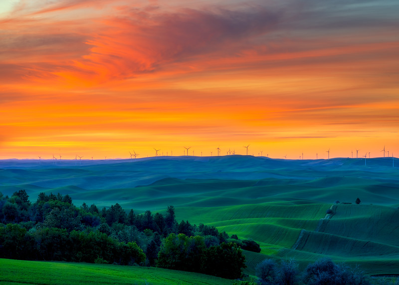 Roll on Palouse into a Glorious Night