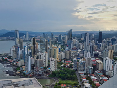 Panoramic View of Panama City