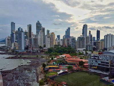 Panoramic View of Panama City