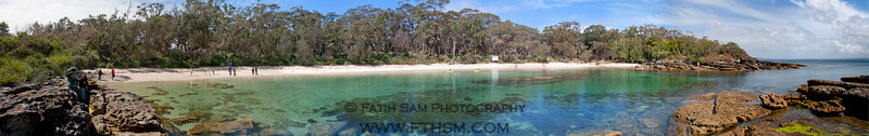 Honeymoon Bay at Jervis Bay, NSW