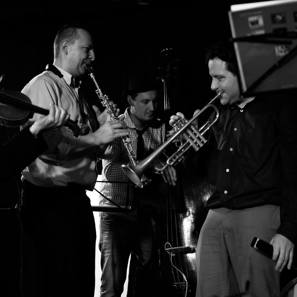 Klezmore Jamsession im Tachles 2013/10/28