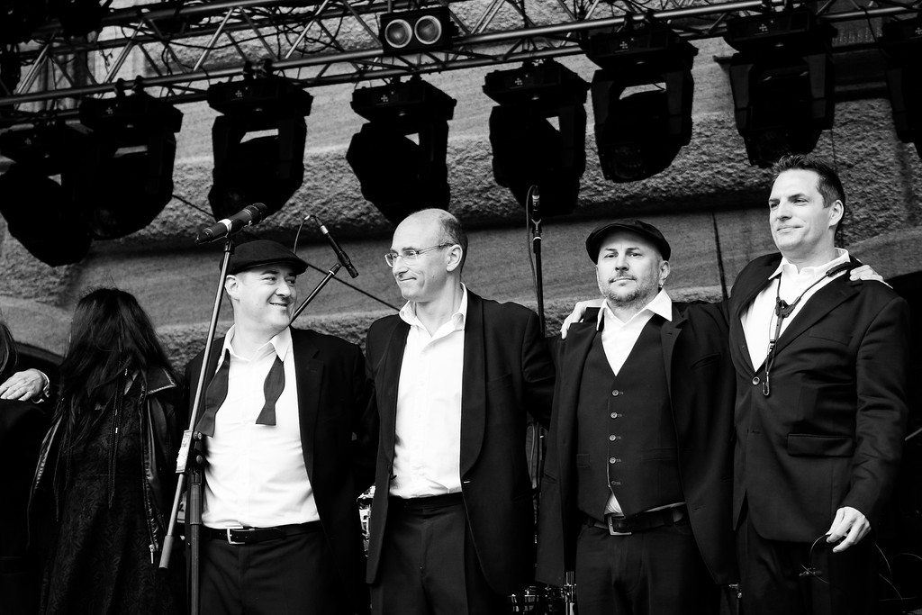 The New Commitments @ Stadtfest Wien 2014