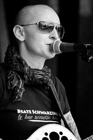 Beate Schwarzinger & HAH @ Donaukanaltreiben 2014
