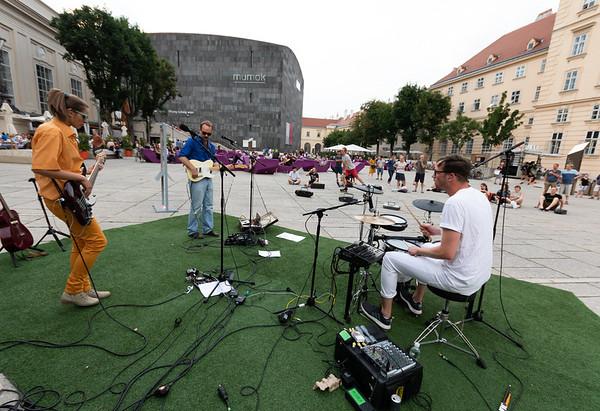 MQ Hofmusik: VIECH Ghettoblasterkonzert 2018/07/05