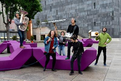 MQ Hofmusik: Walking Concert mit Binder und Krieglstein 2019/05/15