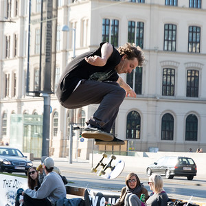 Skateboarder @ RAP Against 2016