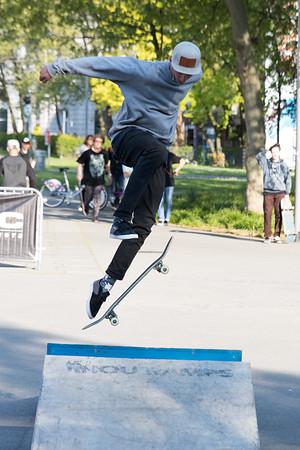 Skateboarder @ RAP Against 2016