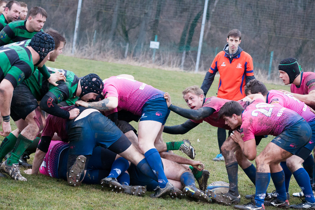 RUGBY DAY: Stade Rugby vs. RC Dragon Brno 2015/03/14