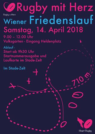 Stade beim Wiener Friedslauf 2018