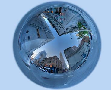 transamerica hdr mirror ball