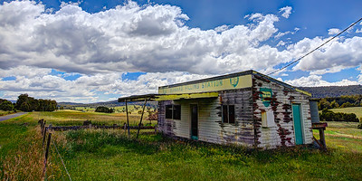 Bonang FIlling Station 3 - Bonang FIlling Station, an old abandoned service station from the days when there was service! Far north eastern Victoria, Australia. ~WIDE VIEW~