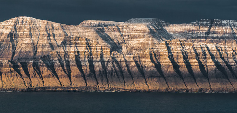 Kalsoy and Kunoy Islands at Sunset