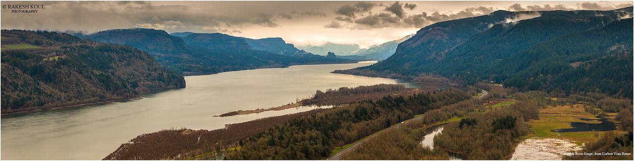 Panorama, Columbia Gorge