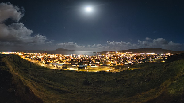 Tórshavn by Night.