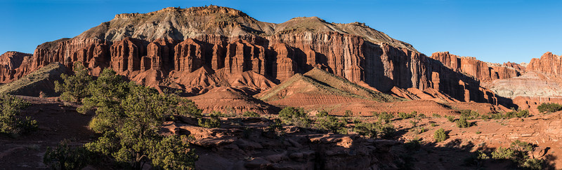 Red Wall Buttresses, SE Utah
