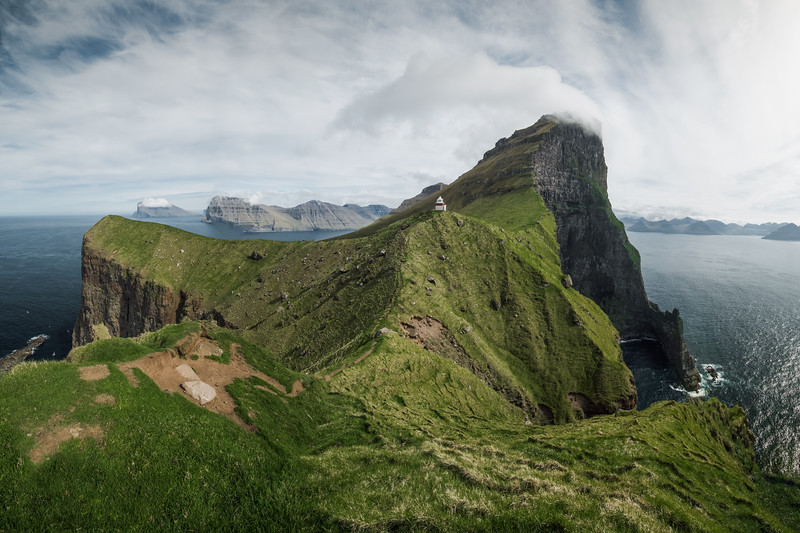 Panorama view of Kallur Lighthouse