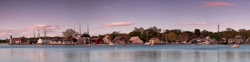 Mystic Seaport Sunset