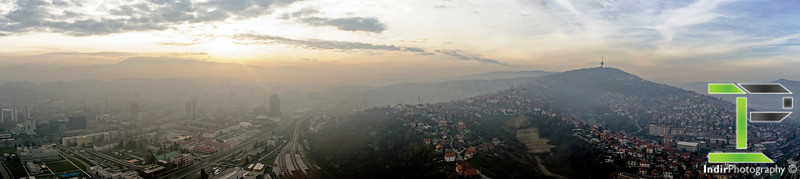 View of Sarajevo from Avaz Tower