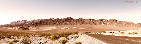 Roadside View, Furnace Creek, Death Valley