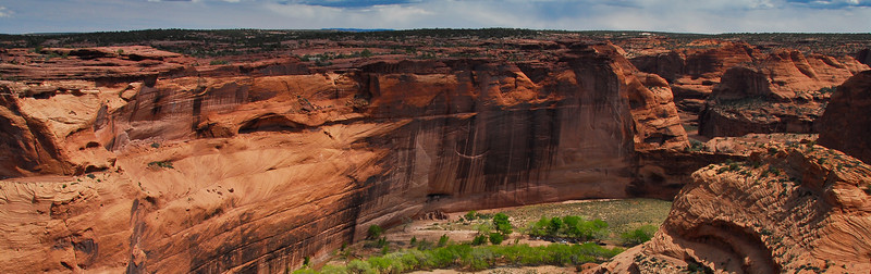 View Toward White House Ruins, Canyon de Chelly