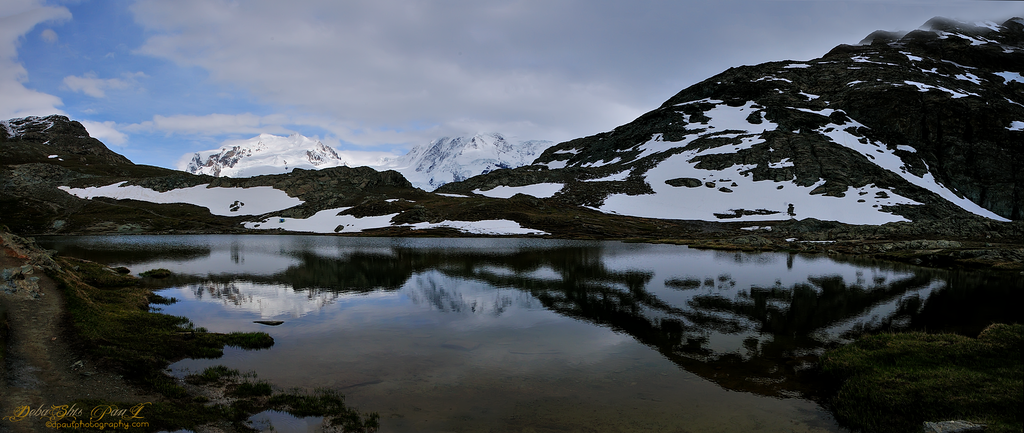 Lake Grindjisee - Sunnega Paradise 5 lakes Hiking way, Zermatt - Switzerland