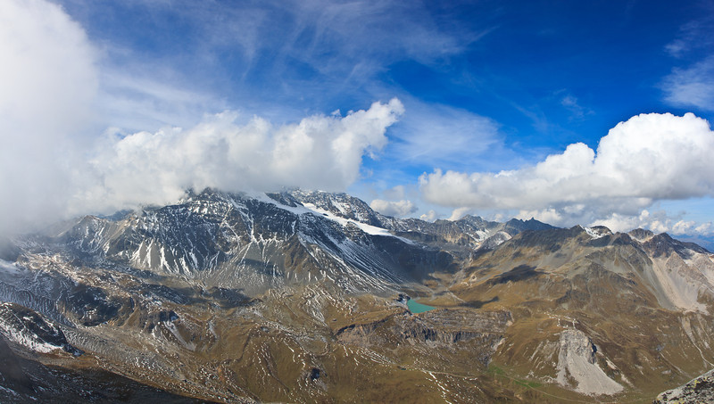 View from Pointe de l'observatoire - Parc de la Vanoise, Savoie, France