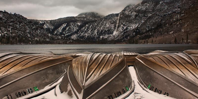 Row Boats at Silver Lake, CA - IMG#3374