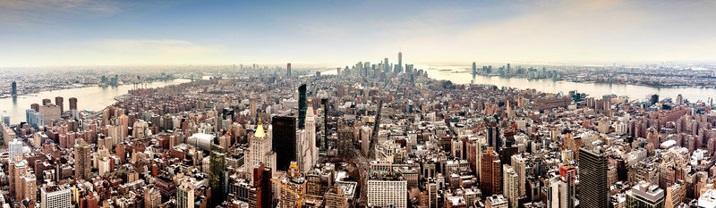 New York City Panorama from the Empire State Building