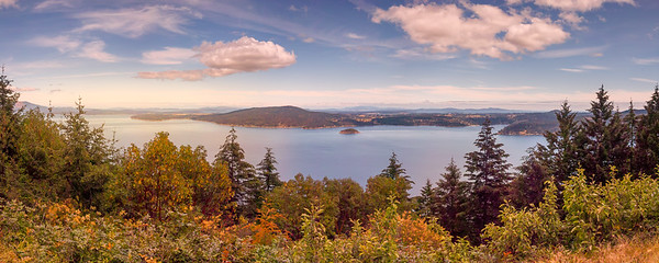 Malahat Viewpoint Panorama
