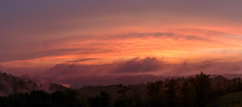 Foggy Sunset 5563P