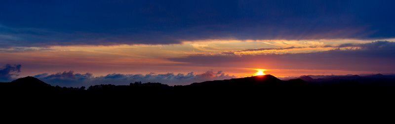 Mulholland Drive Sunset