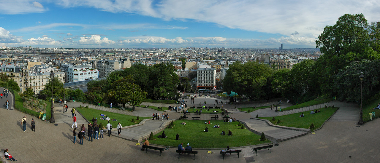 """View from Montmarte"" - Paris, France"
