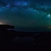 Milky Way over Split Rock Lighthouse 01