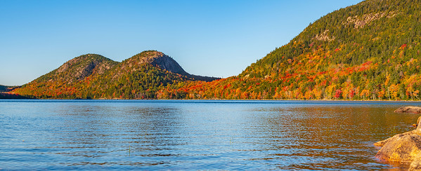 Fall Colors on the Bubbles at Jordan Pond