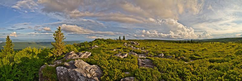 Bear Rocks Evening 1429-37 L