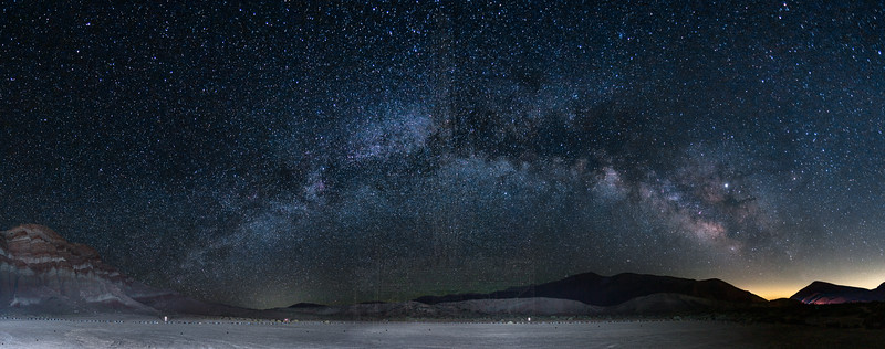 Milky Way Panorama at Red Rock