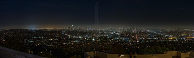 Spring night LA.