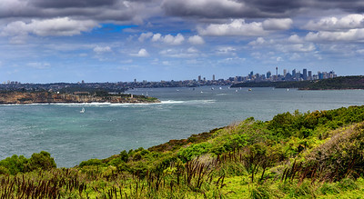 Looking toward Sydney.