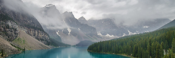 Moraine Lake Misty Morning