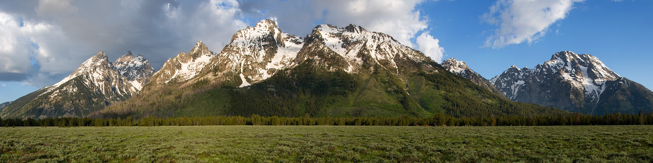 """Le Tetons"" - Yellowstone National Park, Wyoming"