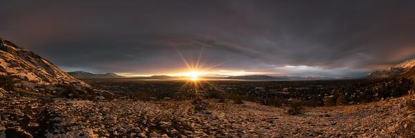 Utah Valley Panorama