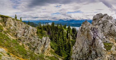 View from White Mountain, Yukon