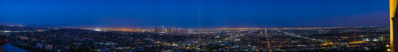 Blue hour in LA.
