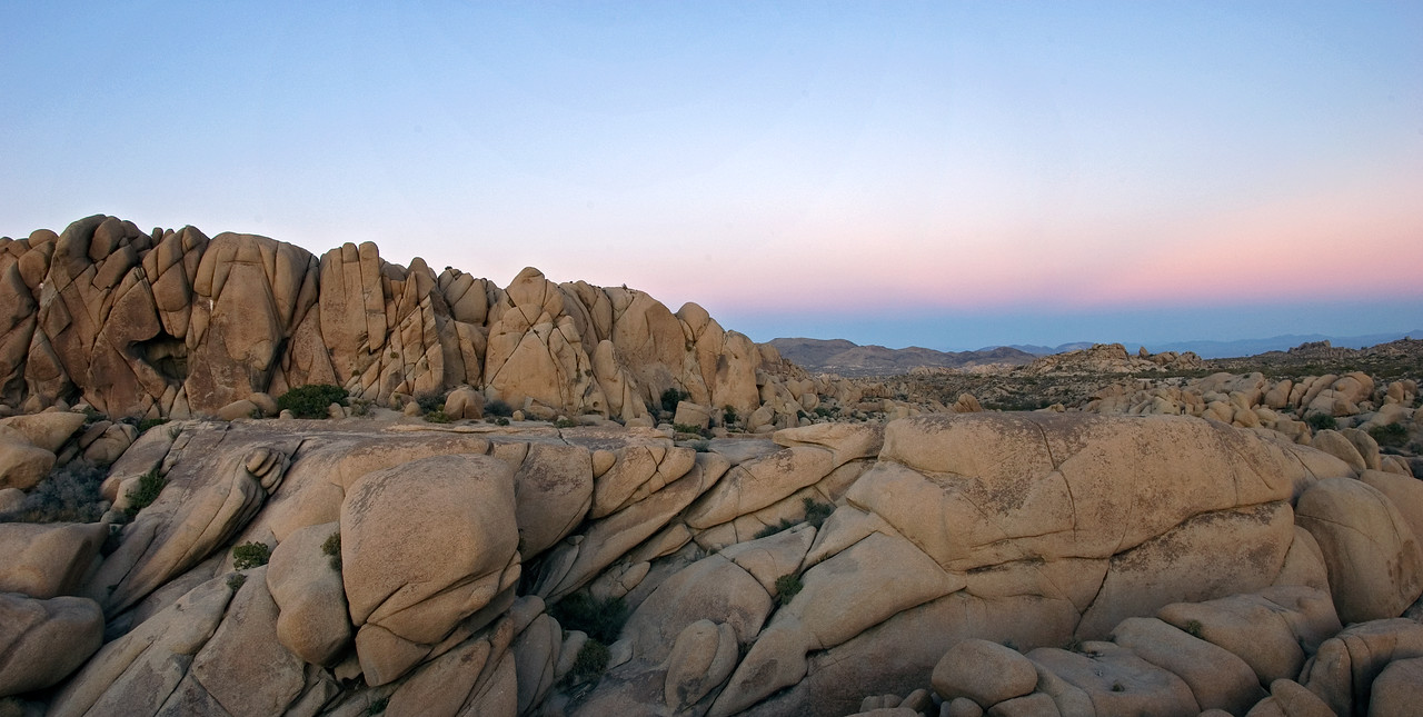 """Martian Sunset"" - Joshua Tree National Park, CA"