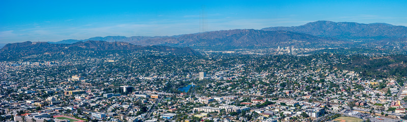Griffith Park and Glendale.
