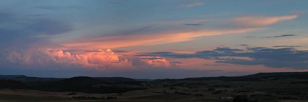 Alton Sunset Panorama