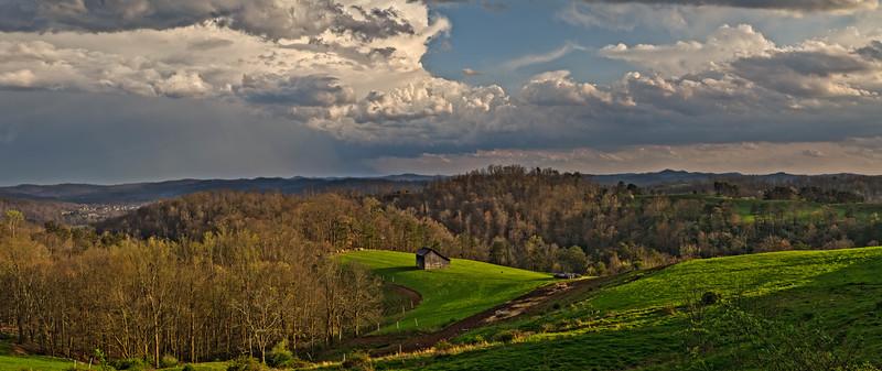 Pleasants Ridge Farm 4973-77 Panorama L4